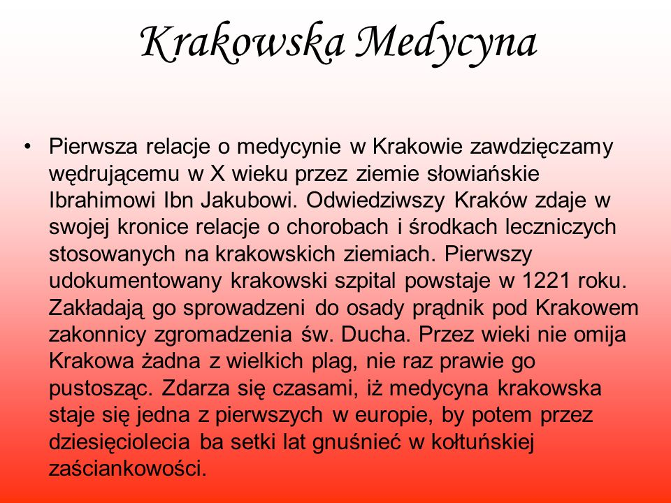 Krakowska Medycyna