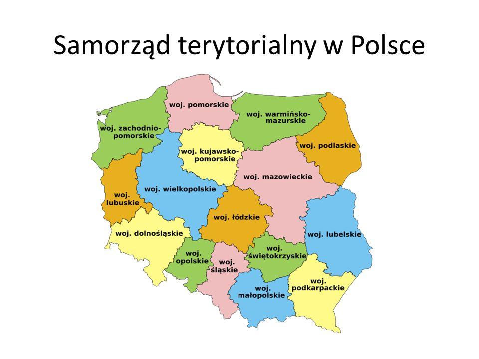 Samorząd terytorialny w Polsce