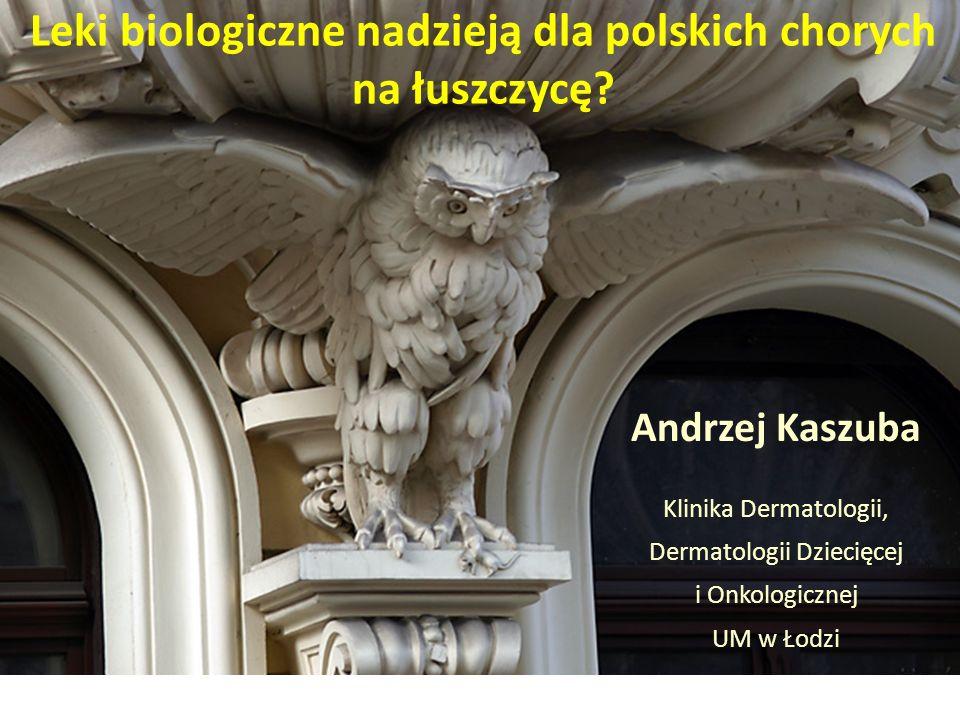 Leki biologiczne nadzieją dla polskich chorych na łuszczycę