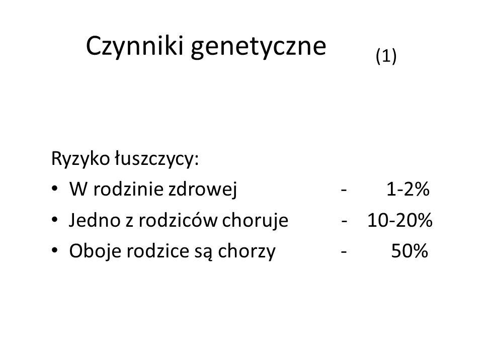Czynniki genetyczne (1)