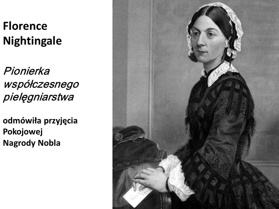 Florence Nightingale Pionierka współczesnego pielęgniarstwa