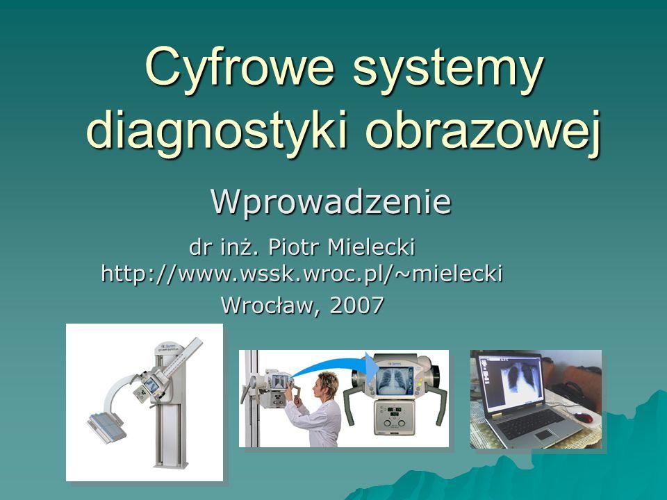 Cyfrowe systemy diagnostyki obrazowej