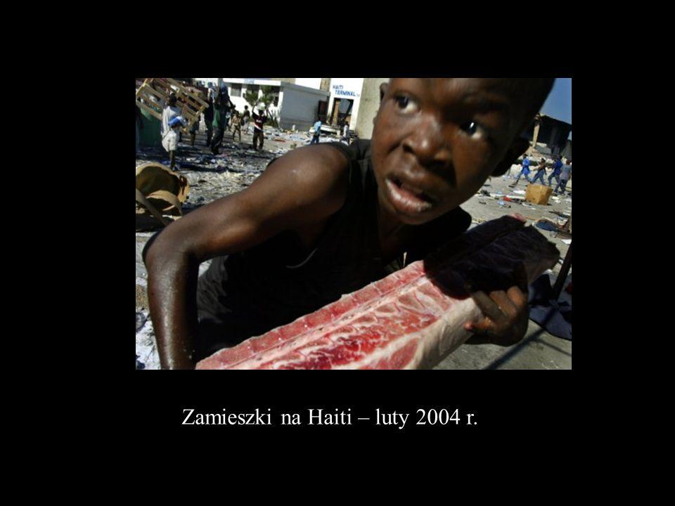 Zamieszki na Haiti – luty 2004 r.