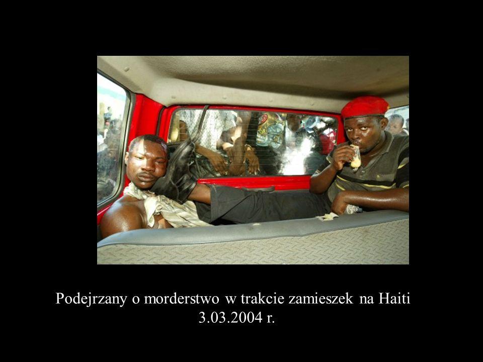 Podejrzany o morderstwo w trakcie zamieszek na Haiti