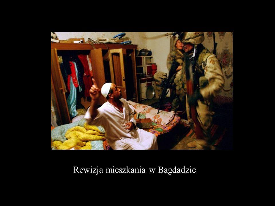 Rewizja mieszkania w Bagdadzie