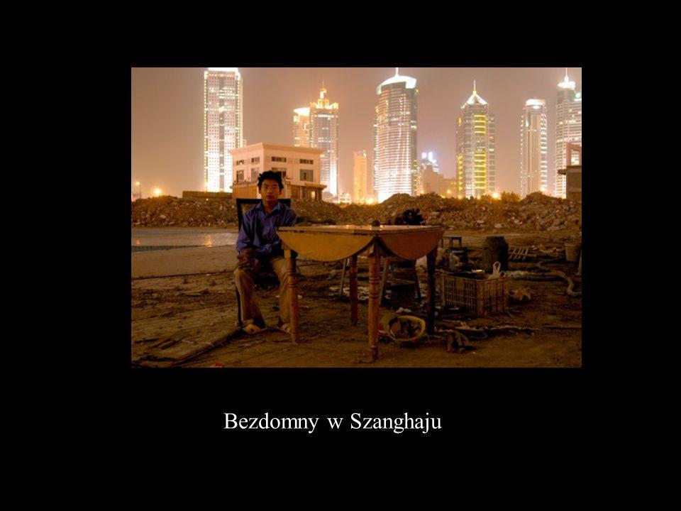 Bezdomny w Szanghaju