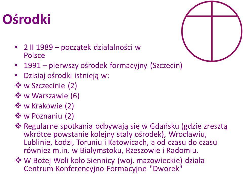 Ośrodki 2 II 1989 – początek działalności w Polsce