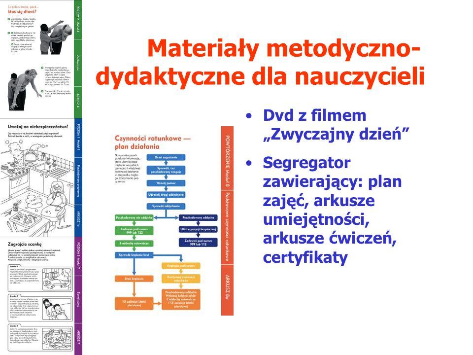Materiały metodyczno- dydaktyczne dla nauczycieli
