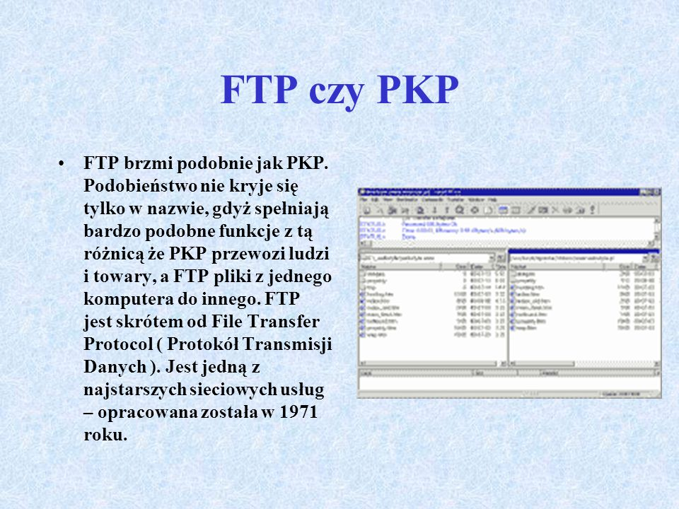 FTP czy PKP