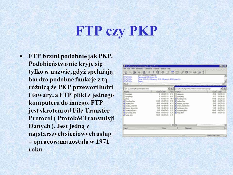 FTP czy PKP