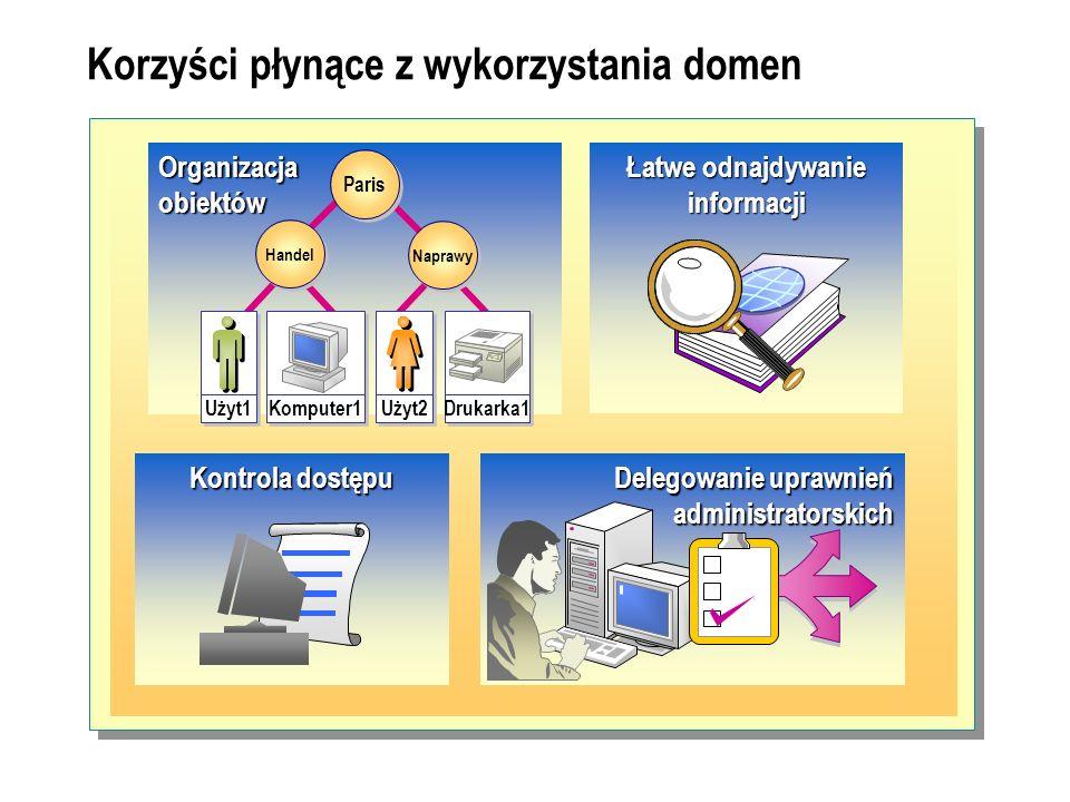 Korzyści płynące z wykorzystania domen