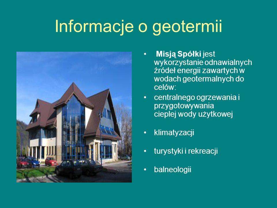 Informacje o geotermii