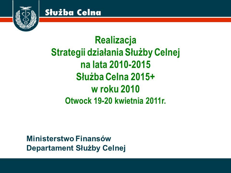 Strategii działania Służby Celnej