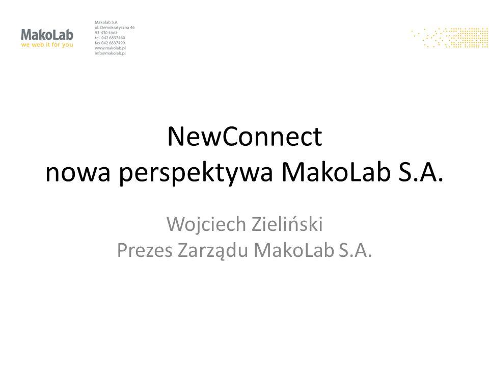 NewConnect nowa perspektywa MakoLab S.A.