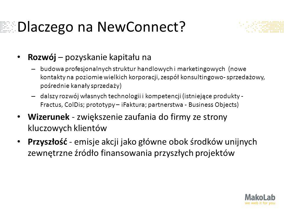 Dlaczego na NewConnect