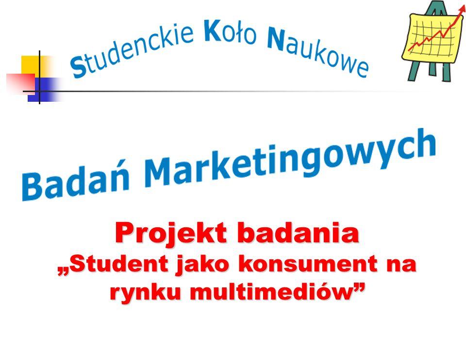 """""""Student jako konsument na rynku multimediów"""