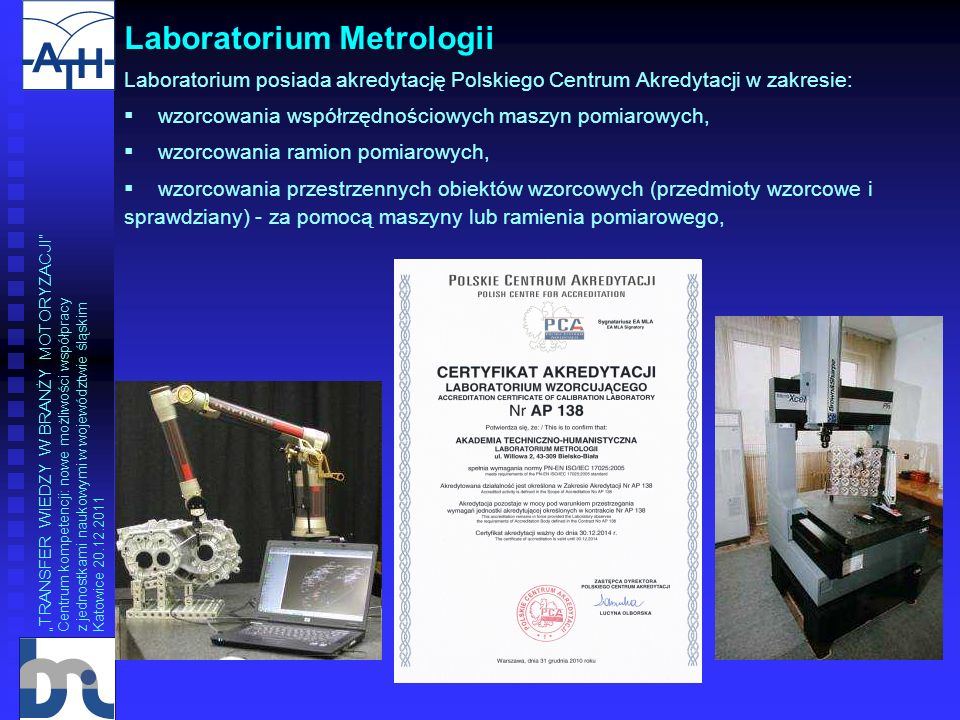 Laboratorium Metrologii