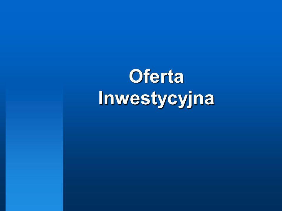 Oferta Inwestycyjna