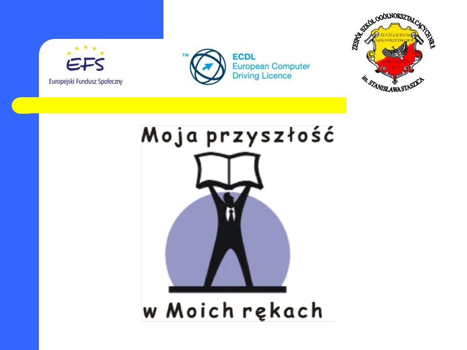 Projekt Unijny współfinansowany e EFS