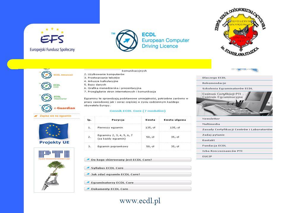 www.ecdl.pl