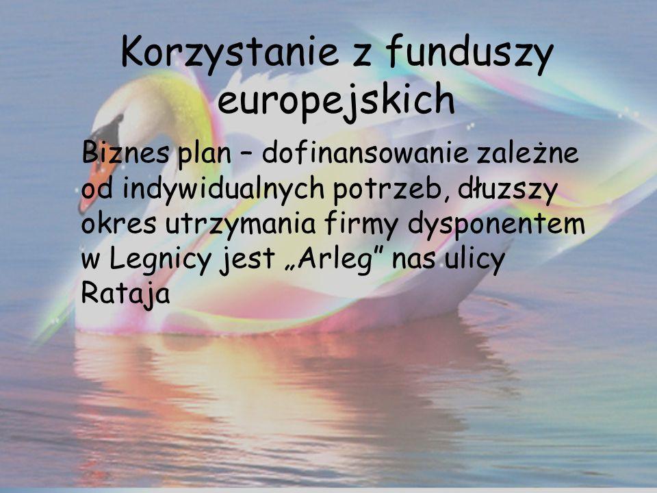 Korzystanie z funduszy europejskich