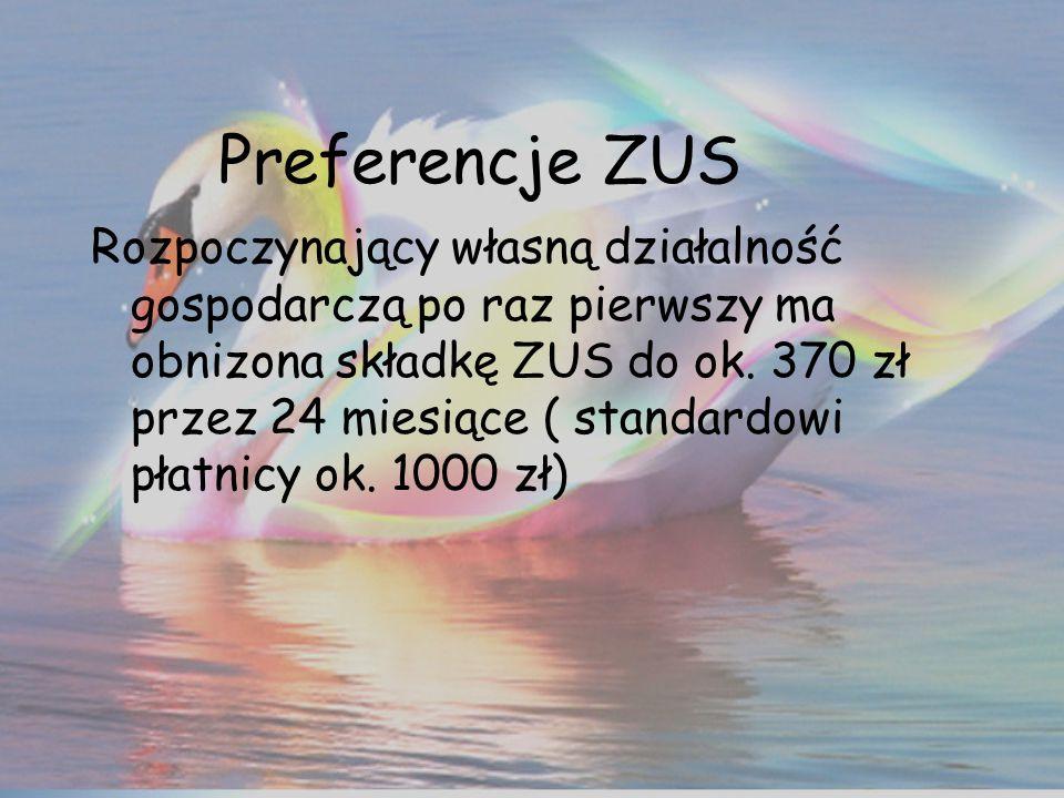 Preferencje ZUS