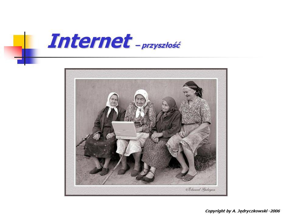 Internet – przyszłość Copyright by A. Jędryczkowski -2006