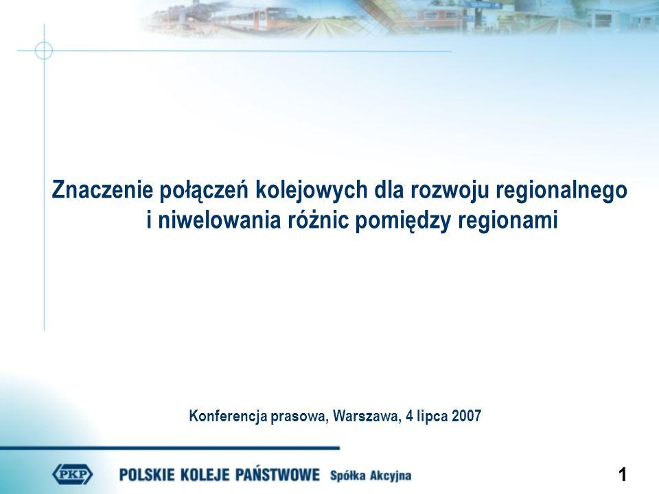 Konferencja prasowa, Warszawa, 4 lipca 2007