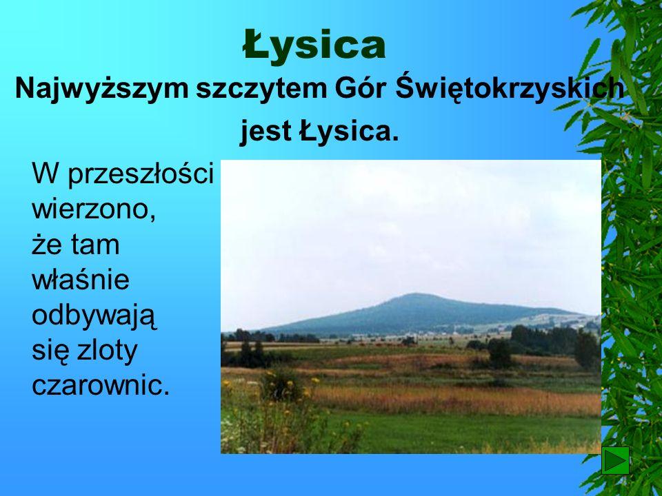 Najwyższym szczytem Gór Świętokrzyskich