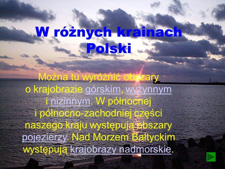 W różnych krainach Polski