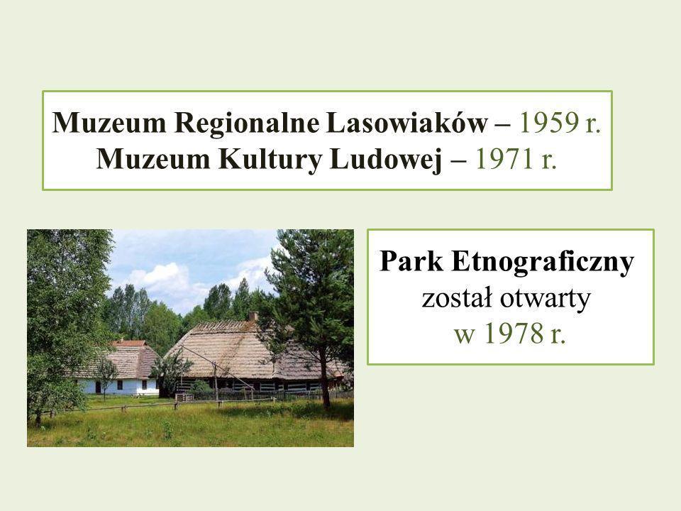 Muzeum Regionalne Lasowiaków – 1959 r.