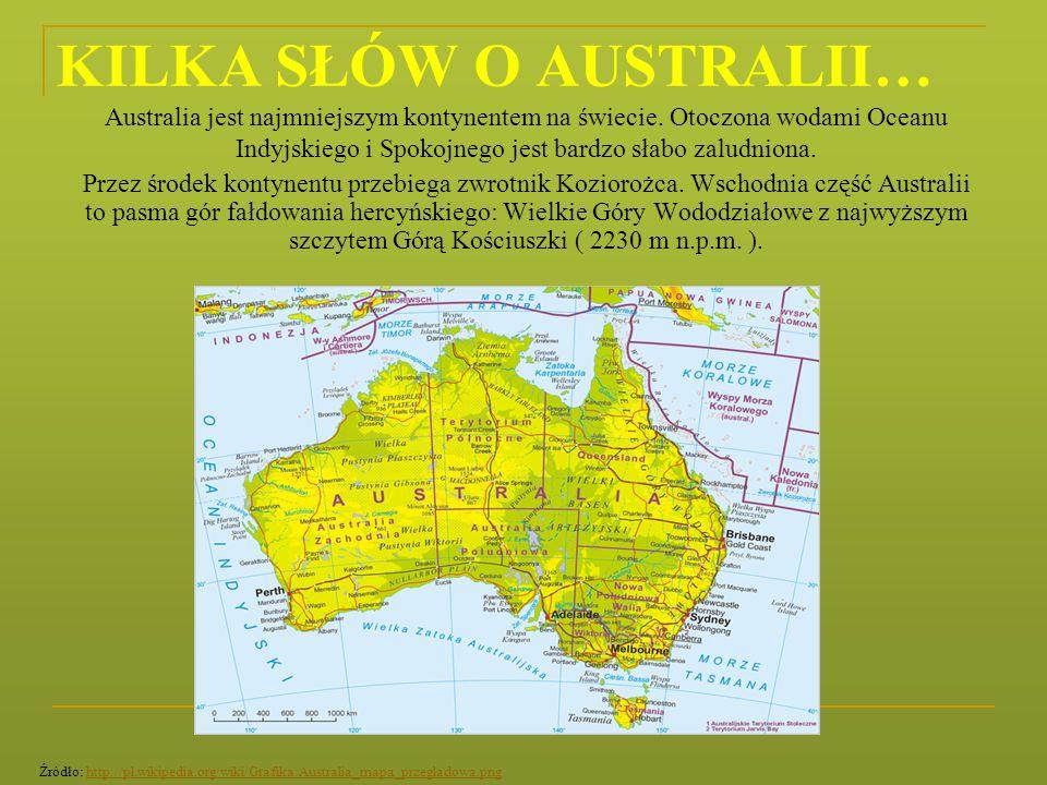KILKA SŁÓW O AUSTRALII…
