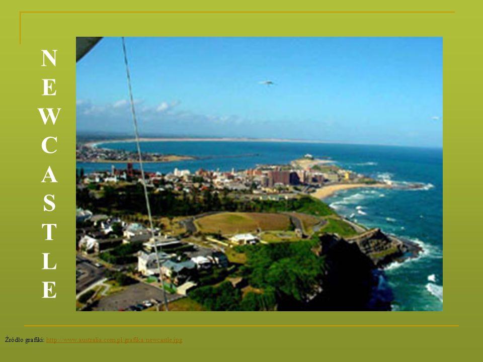 N E W C A S T L Źródło grafiki: http://www.australia.com.pl/grafika/newcastle.jpg
