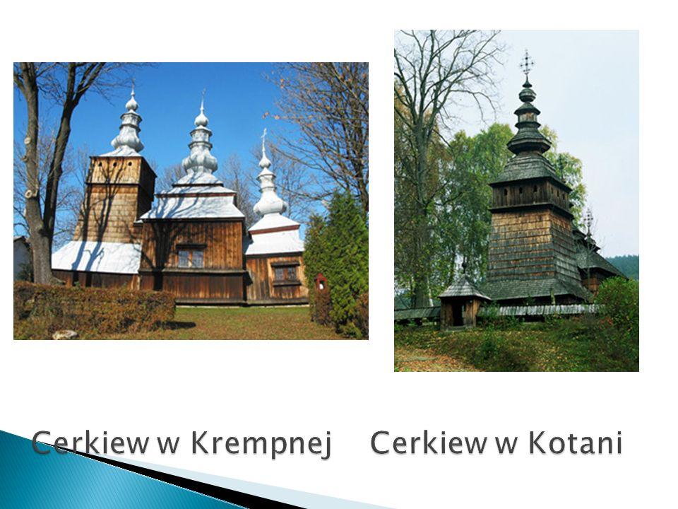 Cerkiew w Krempnej Cerkiew w Kotani