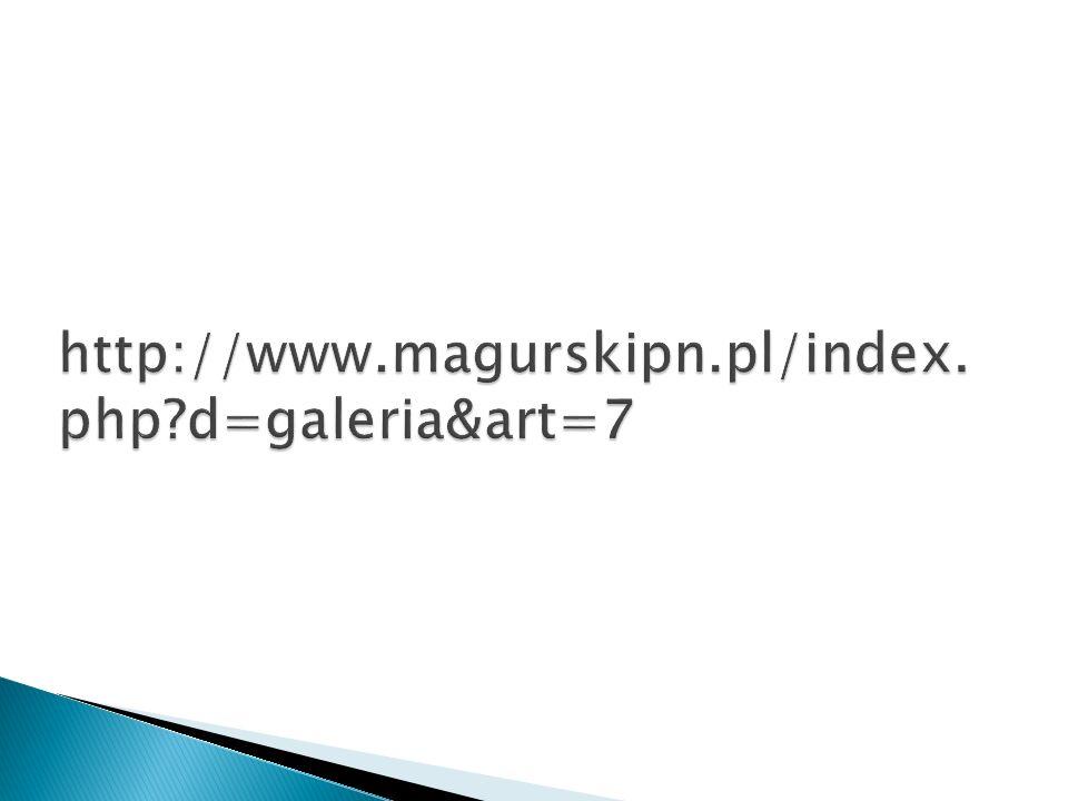 http://www.magurskipn.pl/index.php d=galeria&art=7