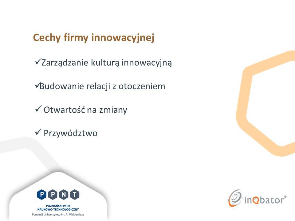 Cechy firmy innowacyjnej