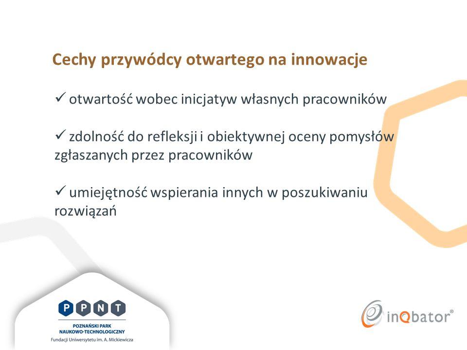 Cechy przywódcy otwartego na innowacje