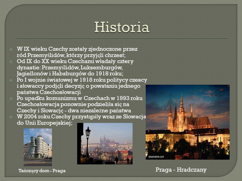 Historia Praga - Hradczany