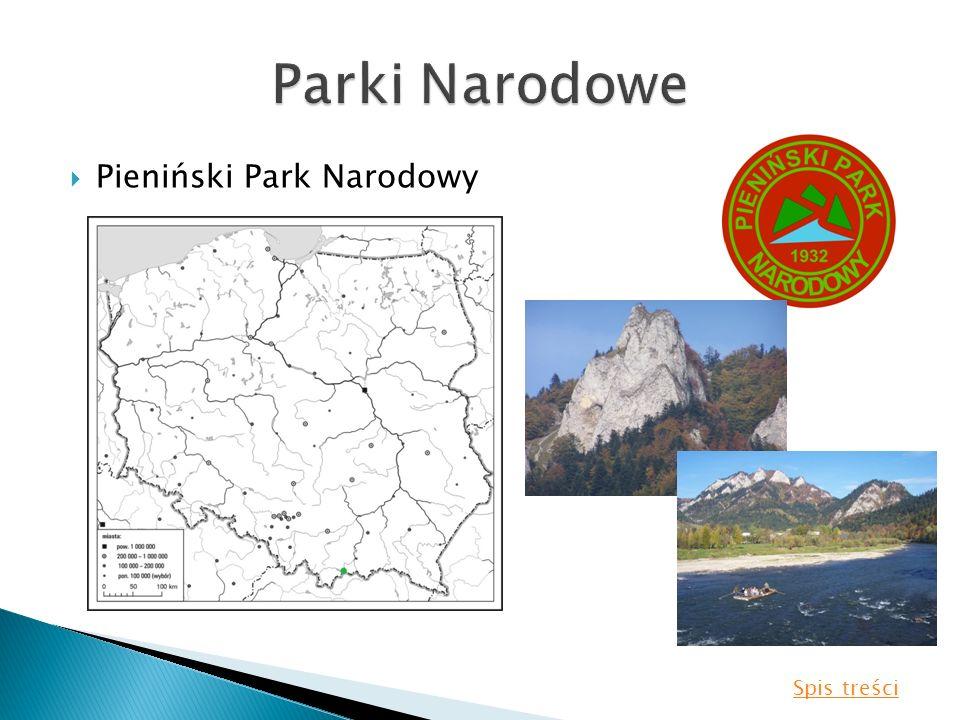 Parki Narodowe Pieniński Park Narodowy Spis treści