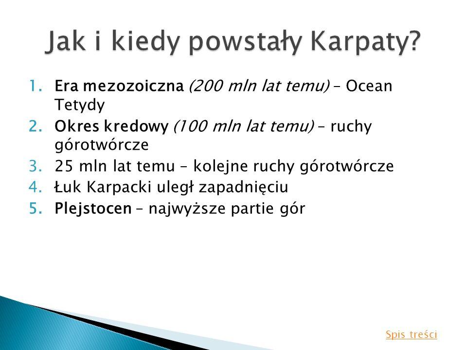 Jak i kiedy powstały Karpaty