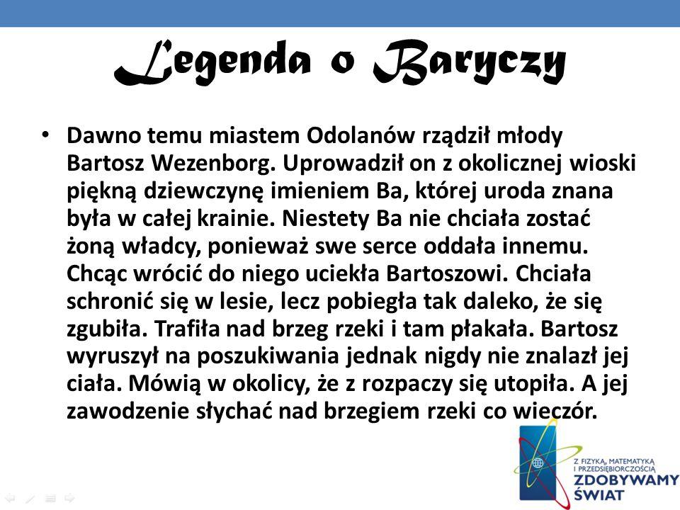 Legenda o Baryczy