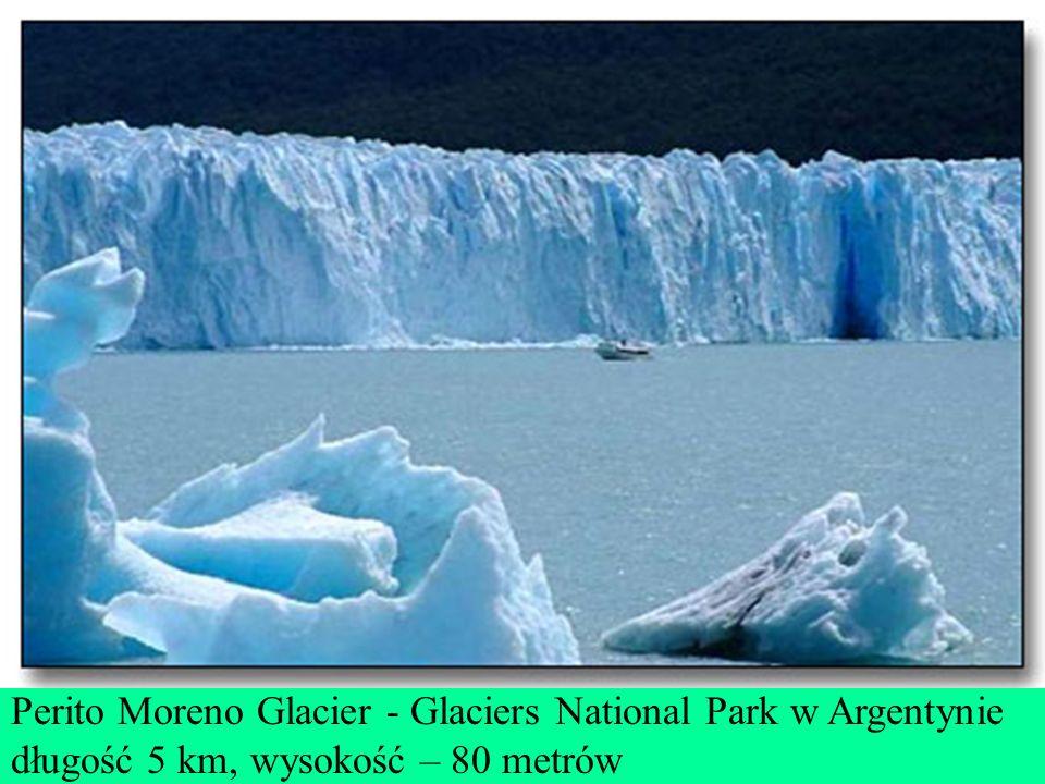 Perito Moreno Glacier - Glaciers National Park w Argentynie