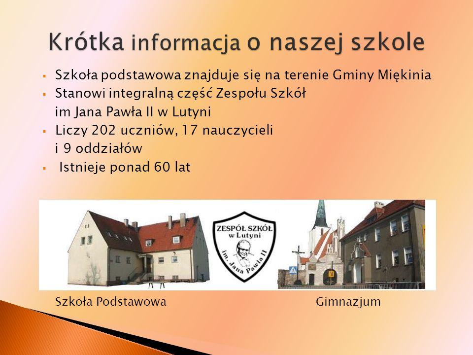 Krótka informacja o naszej szkole