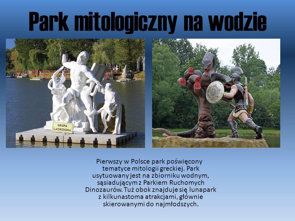 Park mitologiczny na wodzie