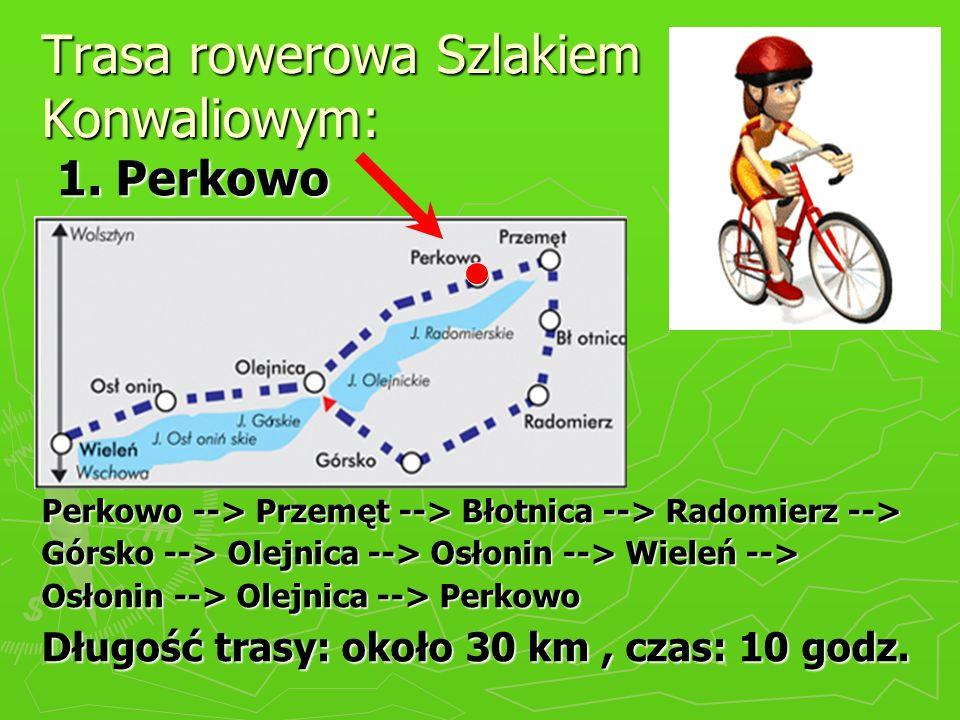 Trasa rowerowa Szlakiem Konwaliowym: