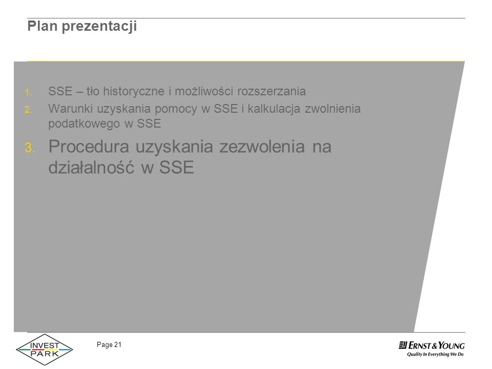 Procedura uzyskania zezwolenia na działalność w SSE
