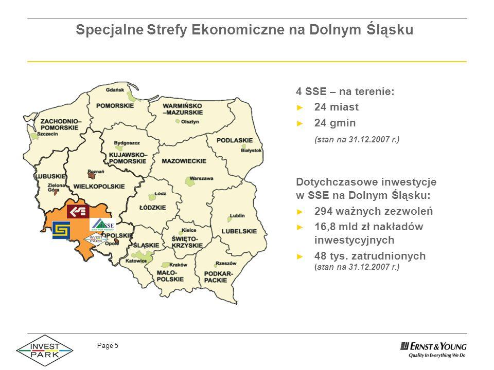 Specjalne Strefy Ekonomiczne na Dolnym Śląsku