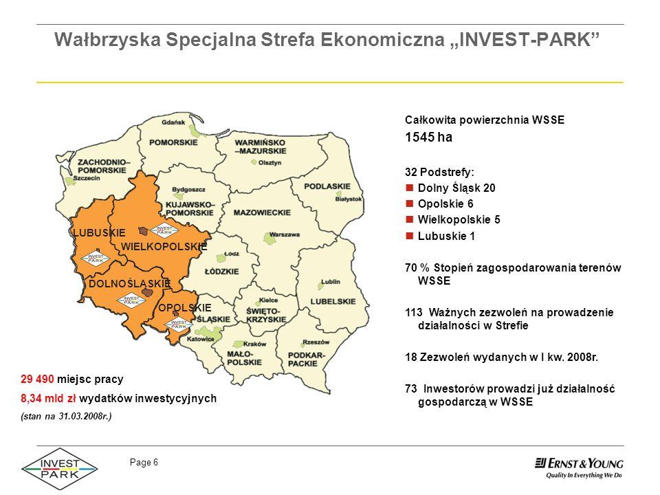 """Wałbrzyska Specjalna Strefa Ekonomiczna """"INVEST-PARK"""