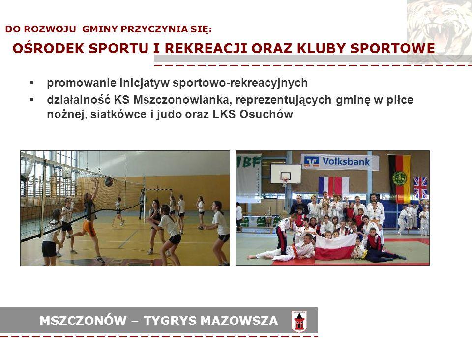 promowanie inicjatyw sportowo-rekreacyjnych