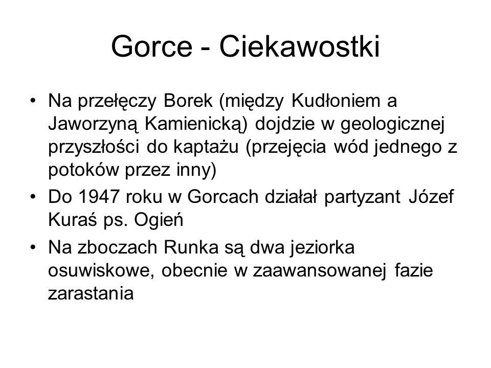 Gorce - Ciekawostki